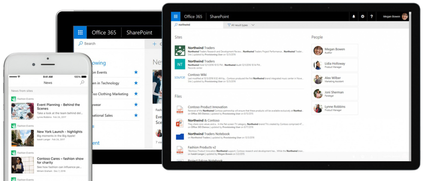 Microsoft SharePoint Banner